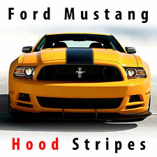 Ford Mustang 2013-14 BOSS hood center racing stripes rally stripe pre-cut decal