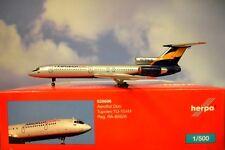 Herpa Wings 1:500 Tupolev tu-154m Aeroflot DON ra-85626 528696