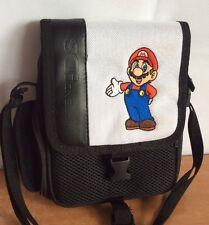 Nintendo DS Bag Super Mario Bros Travel Shoulder Carrying Case Storage Adjustabl