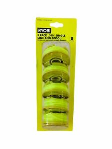 RYOBI 0.080 in. Replacement Auto-Feed Line Spools (5-Pack)