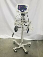 Welch Allyn 53ntp 300 Series Vital Signs Patient Monitor With Accessories Stand