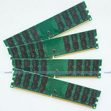 Micron chips 16GB 4x4GB PC2-6400 DDR2 800 MHZ 240Pin Ram For AMD Desktop Memory