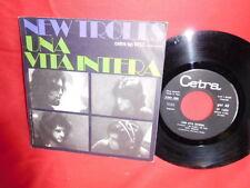 NEW TROLLS Una vita intera 7' + PS 1971 ITALY MINT Rare It Heavy PSYCH PROG Fuzz