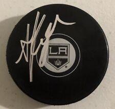 Anze Kopitar Signed Autographed Los Angeles Kings Logo Hockey Puck Coa
