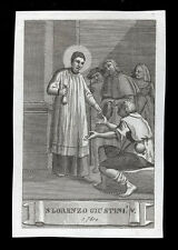 santino incisione1800 S.LORENZO GIUSTINIANI