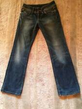 G-STAR Damen Jeans Low Cut/Boot Cut 27/34 USED