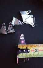 Metal hold down brackets mini blind or cellular shade 1 pair