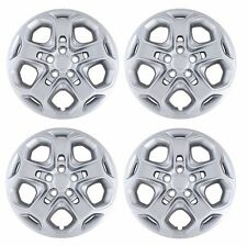 """NEW 2010 2011 2012  FORD FUSION 17"""" Silver Bolt-on Hubcaps Wheelcover SET of 4"""