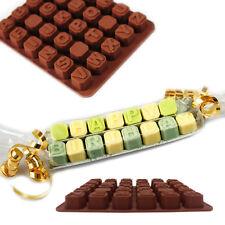 Alphabet Fondant Icing Sugarcraft Cake Chocolate Decorating Mould Ice Cube Tools