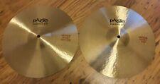 Paiste Formula 602 Medium Hi Hat Cymbals ( Excellent Condition)