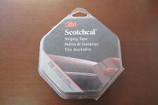 3M 76340 Scotchcal Striping Tape, Mini-Dim 5 LT Burgundy, 1-1/8 in