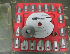 Craftsman single cutter molding head set for table and radial saws (lightly used