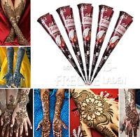 5x Golecha natürliche Henna Kegel 100% Natur für Mehndi/Mehandi Tattoo - 125g