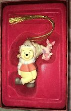 Lenox Disney Showcase 2005 Pooh Ornament with box First In Series