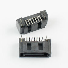 10Pcs New Sata 7 Pin B Type SMT Male Connector For Hard Drive HDD