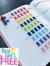 S009 --Set of Flags Life Planner Die-Cut Planner Stickers for Erin Condren