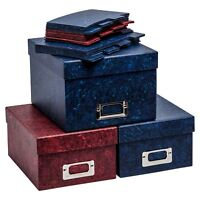 Photograph Storage Boxes And Or Index Cards For Storing upto 700 Photo Pictures