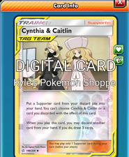 Cynthia & Caitlin 4X Pokemon TCG Online PTCGO FAST 189/236