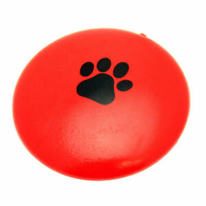 Squeaking Flying Disc Dog Toy