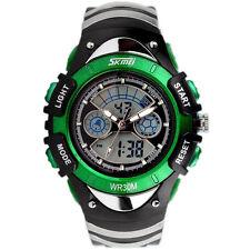 Boys Girls Watch Waterproof Multifunction Sports Analogue Digital Wristwatch US