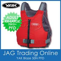 YAK BLAZE 50N Buoyancy Aid PFD-Kayak/Canoe/Touring/Sailing Boat Life Jacket Vest