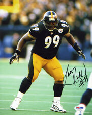 Levon Kirkland SIGNED 8x10 Photo Pittsburgh Steelers #99 ITP PSA/DNA AUTOGRAPHED