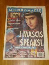 MELODY MAKER 1993 JAN 16 DINOSAUR JR LEMONHEADS AUTEURS
