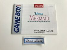 Notice - Disney's The Little Mermaid - Nintendo Game Boy - NTSC USA