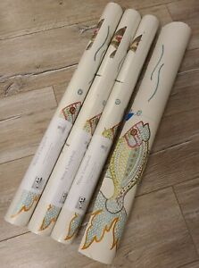 3 Rolls + Nina Campbell Osborne & Little Wallpaper NCW3833-03 Aquarium Fish