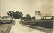 Garton on the Wolds between Driffield & Sledmere. Road & Church.