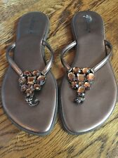 MATISSE womens 8 light brown AMBER SANDAL flipflops ladies