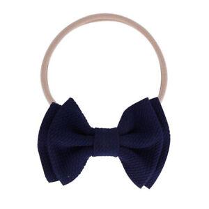 Kid Girl Baby Headband Toddler Big Bow Bowknot Hair Band Accessories Headwear