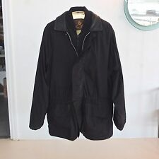 Mens XL LORO PIANA Horsey Jacket with Quilted Gilet Vest Barcelona Olympic Black