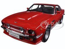 1985 Aston Martin V8 Vantage Suffolk Red 1/18 Diecast Model Car By Autoart 70222