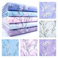 JAPANESE SAKURA BLOSSOM - SPRING PASTELS ~ 100% COTTON FABRIC patchwork fashion