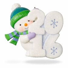 Hallmark 2016 Ornament Frosty Fun Decade LIMITED & RARE Signing Event Repaint