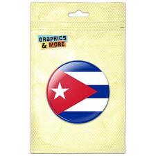 Cuba National Country Flag Pinback Button Pin Badge