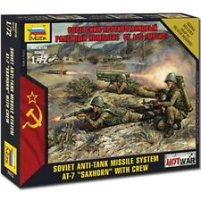 Zvezda 7413 Soviet Metis Anti-Tank Launcher With Crew 1/72 Military Model Kit