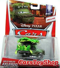 Disney Cars 2 Wild Miles Axlerod Deluxe Toy Axelrod Axel rod Diecast Jungle rare