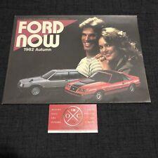 Vintage 1982 Ford Brochure Japanese Catalog Rare 83 Mustang Laser Lincoln 81 84