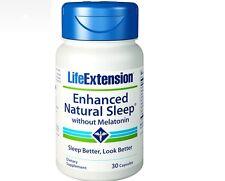 Enhanced sonno naturale, 30 Capsule-Life Extension