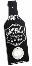 Retro Vintage Style Beer Bottle Opener - Beer Why Limit Happy To An Hour