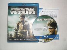 Windtalkers (Blu-ray Disc, 2009) Nicolas Cage, Adam Beach, Peter Stormare, WWII