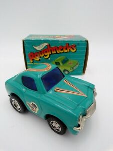 Vintage Marx Roughnecks Tin Chevy Camaro Blue Pull Back NEW Old Store Stock 2