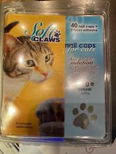 Soft Claws Set Of 24 With 1 Tube Of Glue Size Large Color Natural