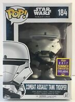 Funko POP! Star Wars Rogue One Combat Assault Tank Trooper #184 Figure Exclusive