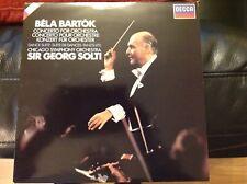 BARTOK: CONCERTO PER ORCHESTRA, Danza Suite-Solti/Chicago DECCA DIGITAL in buonissima condizione