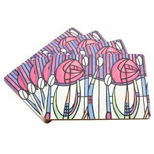 Set of 4 Gift Packed Modern Mackintosh Laminated Dining Table Placemats