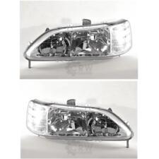 Scheinwerfer Set für Honda ACCORD CG/CH Bj. 10/98-06/03 H7/H1 mit Blinker