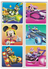 """25 Mickey Mouse Roadster Racers Stickers, 2.5"""" x 2.5"""" each, Party Favors"""